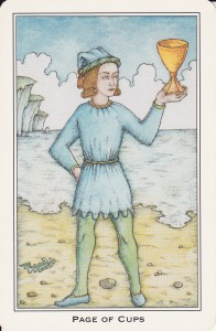 Little Shop of Tarot Nigel Jackson Page of Cups