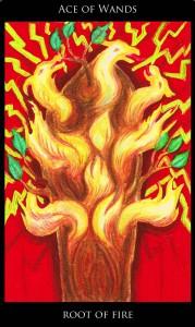 Empowering Tarot Ace Wands