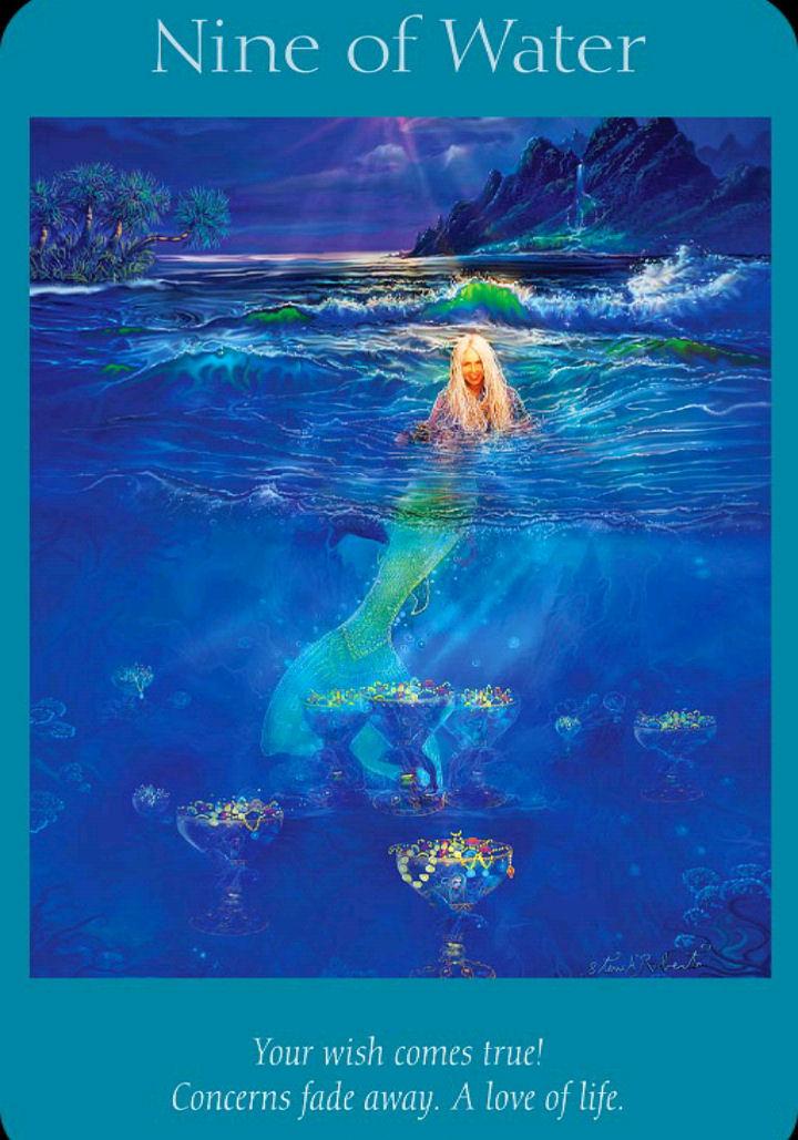 Empowering Tarot Nine Water