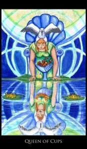 Empowering Daily Tarot Queen Cups